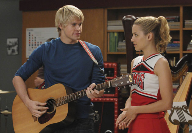 Sam Evans and Quinn Fabray