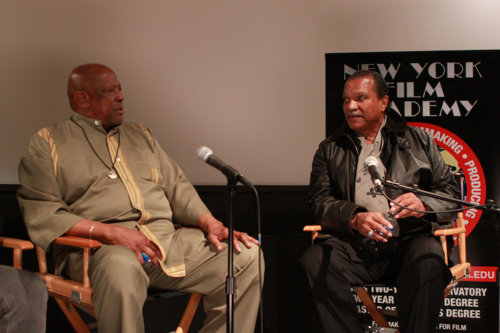 Louis Gossett Jr. and Billy Dee Williams