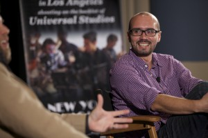 Alonso Mayo at a Q&A with NYFA students last night