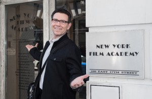Mark at NYFA doorway