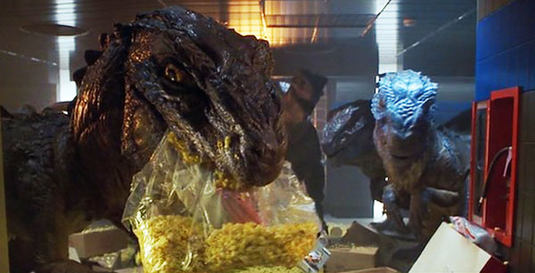 Baby Zillas from Roland Emmerich's 1998 adaptation of Godzilla