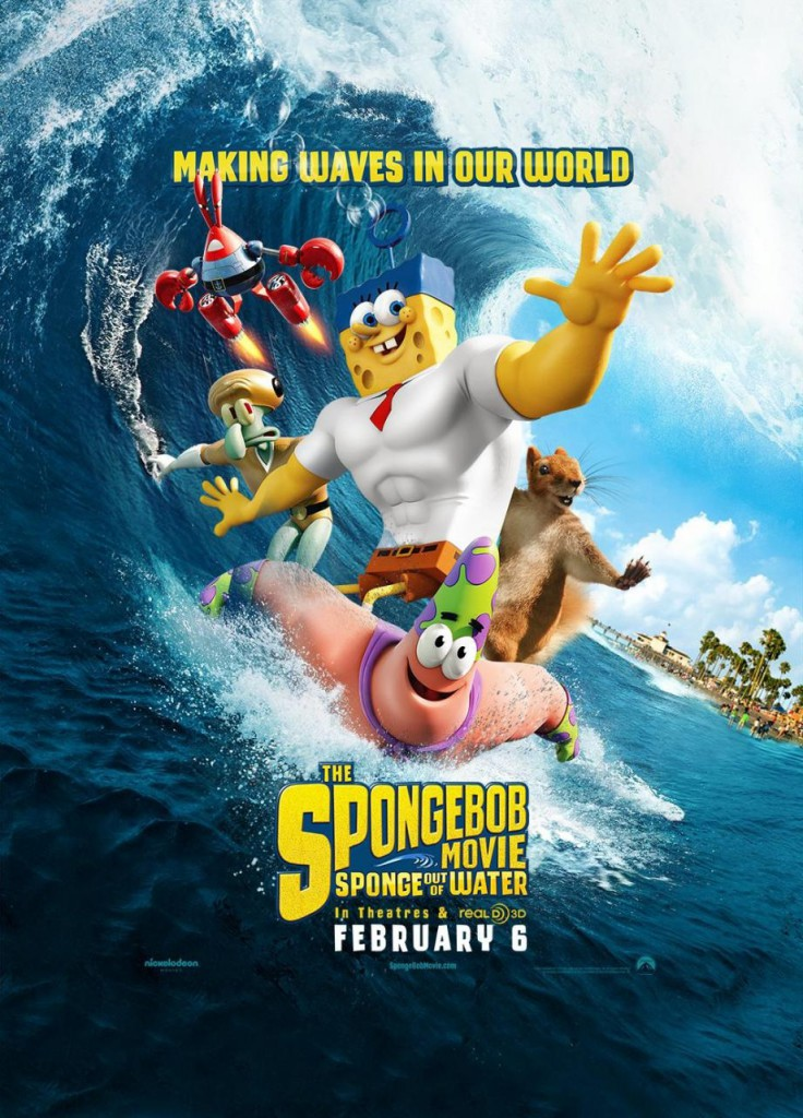 Spongbob Movie Out of Water poster