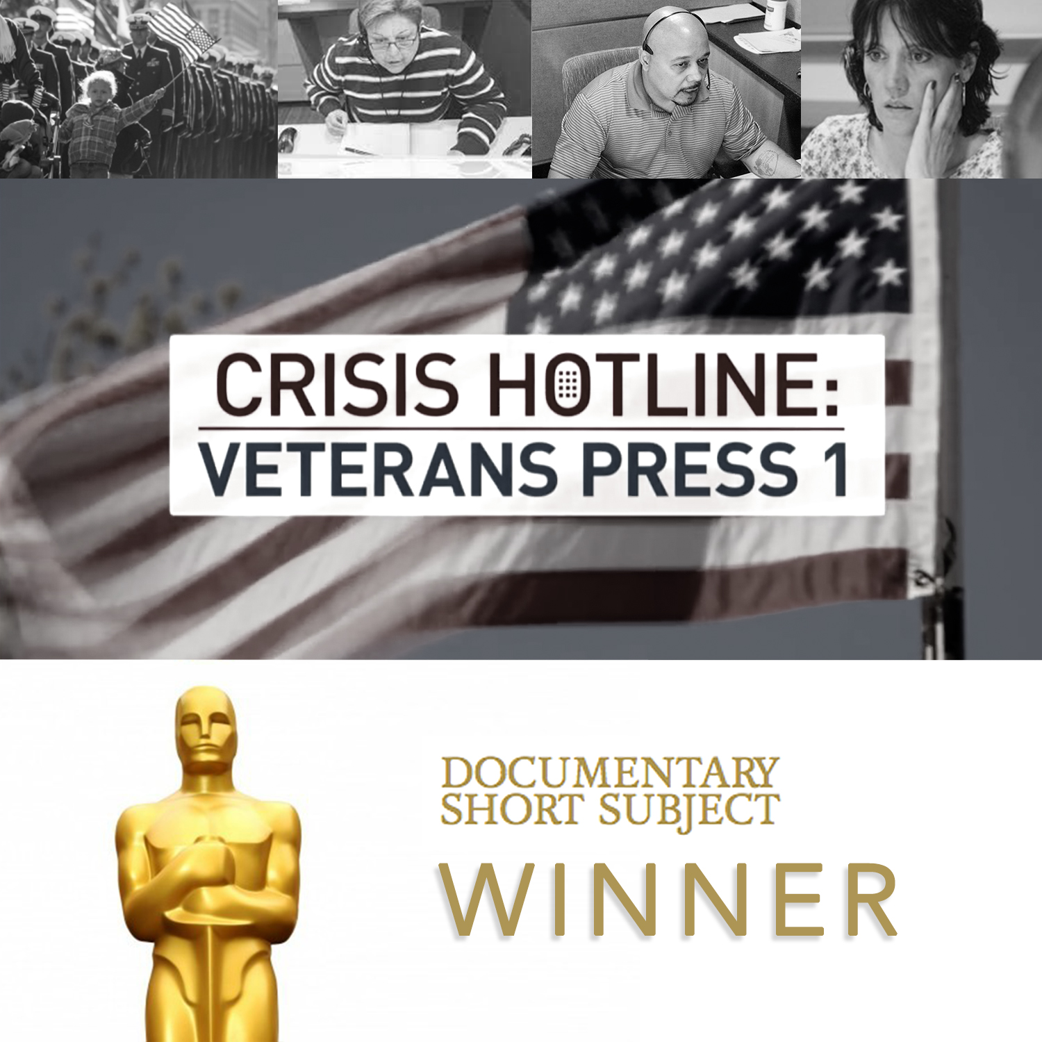 Crisis Hotline: Veteran's Press 1 has won this years Documentary Short Subject Oscar. The film's editor Geof Bartz, is also New York Film Academy's ...