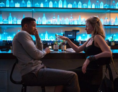 Will Smith and Margo Robbie in Focus