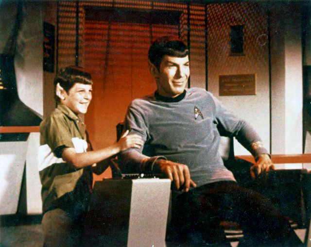 Adam and Leonard Nimoy