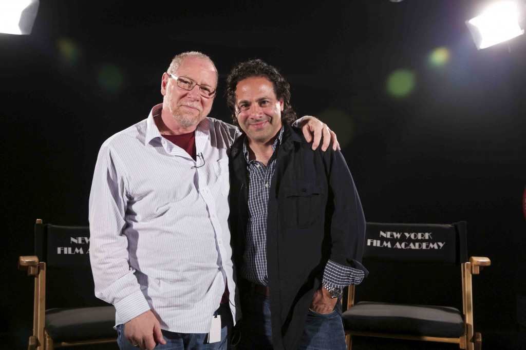 "Tony Schwartz, NYFA Chair of Producing, worked with Gabe on ""Freaks and Geeks"""