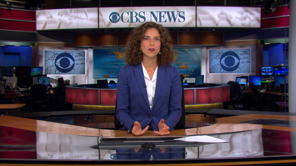 Nour Idriss on CBS Evening News