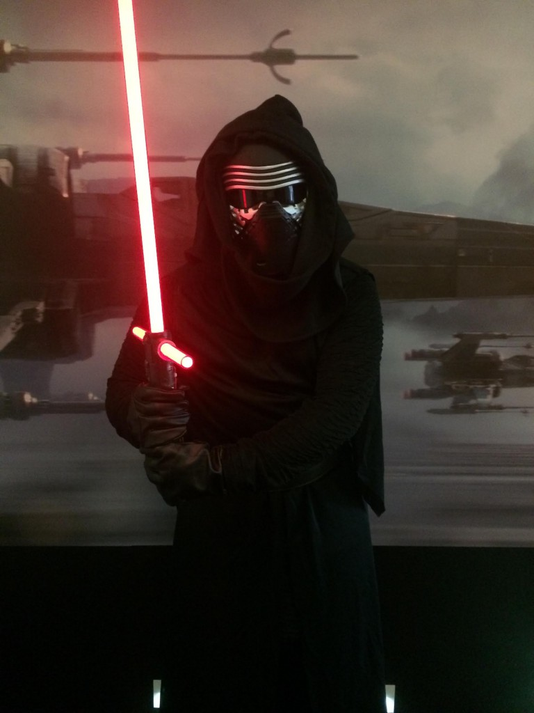 NYFA alum Francesco Panzieri dresses as Kylo Ren