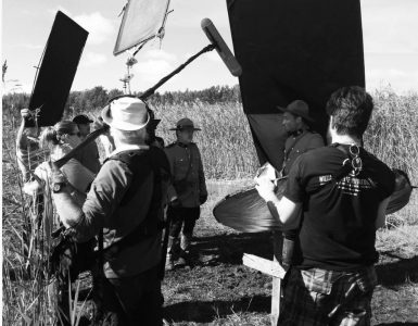 gods acre on set