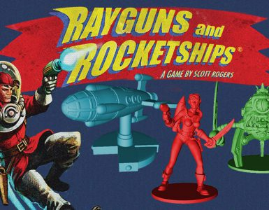 ray guns and rocketships
