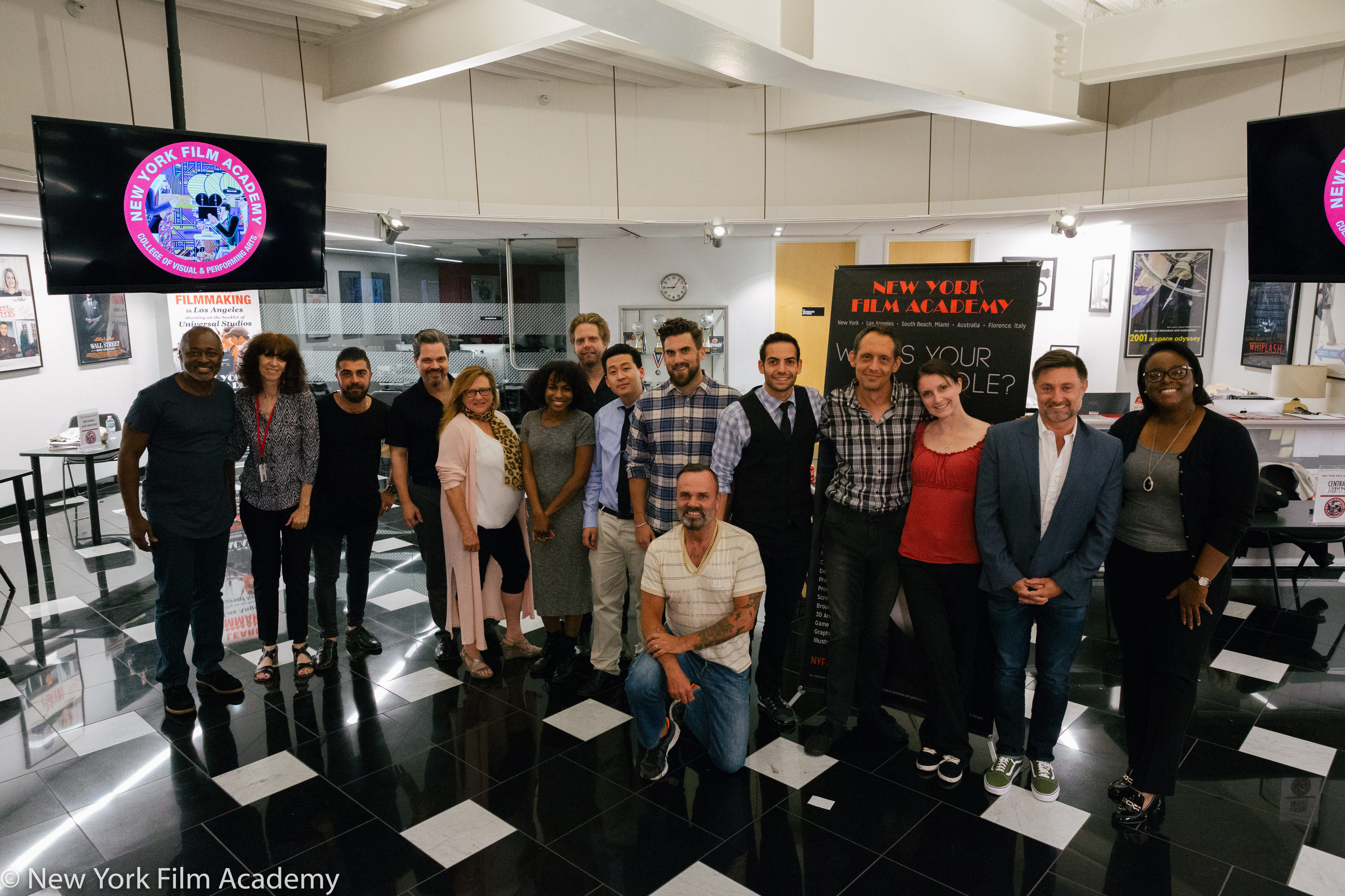 Nyfa Los Angeles Hosts Exclusive Talent Meet And Greet For Acting