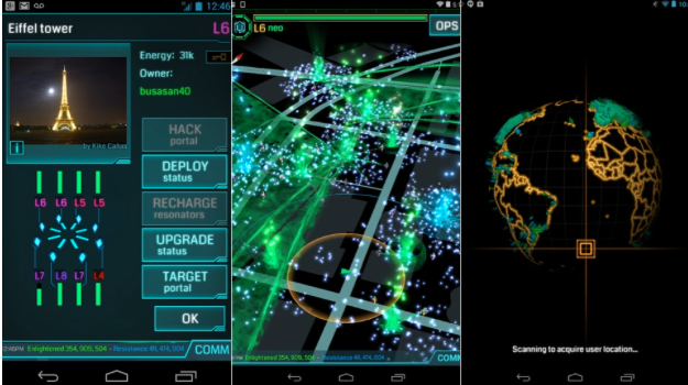 Ingress App | Game Design at NYFA