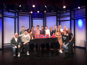 "Cast of NYFA's ""Merrily We Roll Along"""