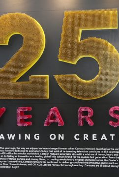 """Paley Center For Media Presents A Press Preview Of """"Cartoon Network: 25 Years of Drawing on Creativity"""" Exhibit"""
