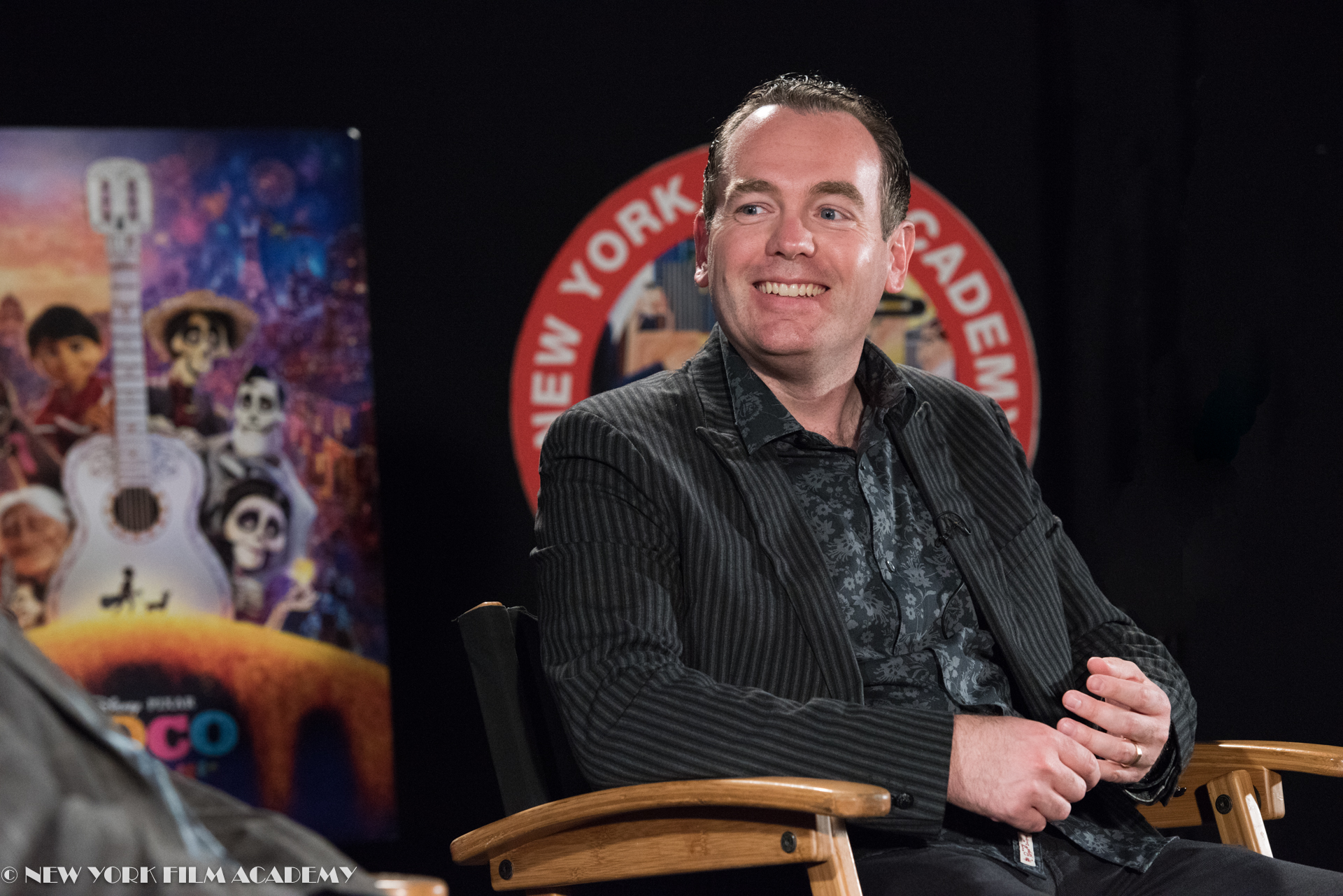 Byron Bashforth answers questions about Disney's Coco at NYFA LA