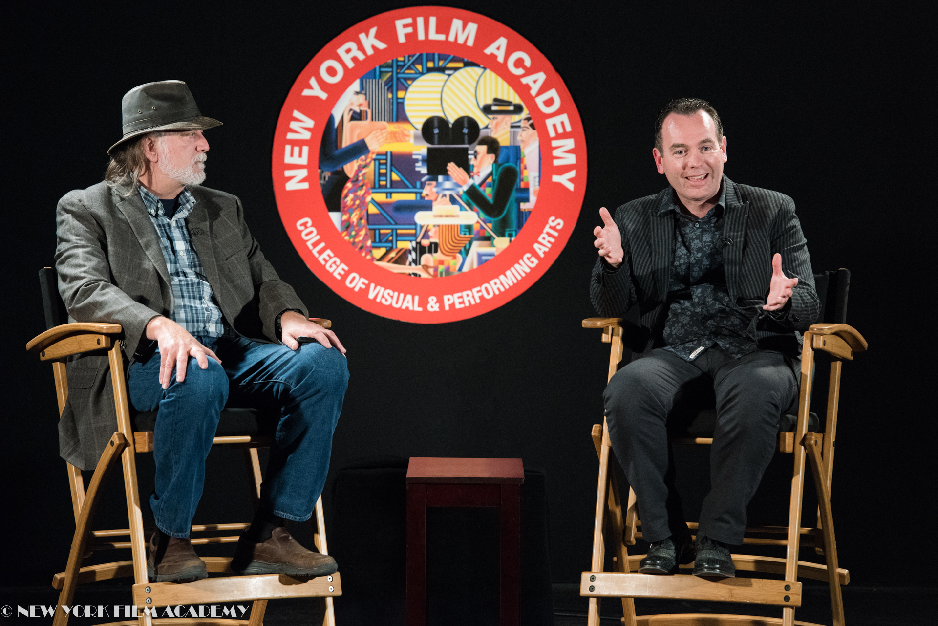Craig Caton hosts an evening with Byron Bashforth at NYFA LA
