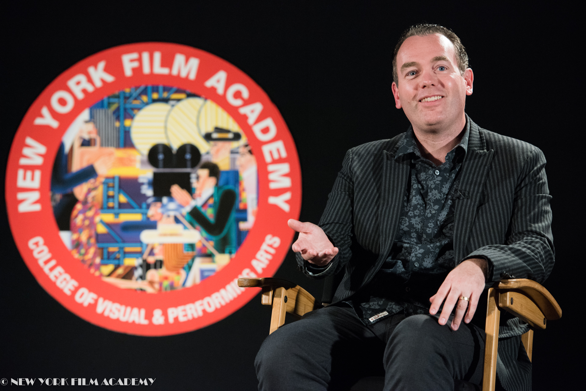 Guest Speaker Byron Bashforth discusses Disney's Coco at NYFA LA