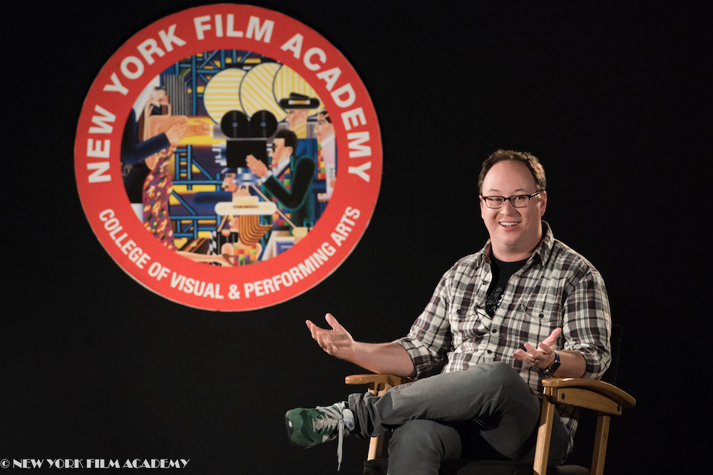 """Rick and Morty"" writer Mike McMahan answers questions from students at the New York Film Academy"