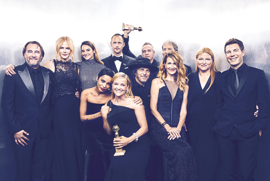 """Big Little Lies"" at the Golden Globes"