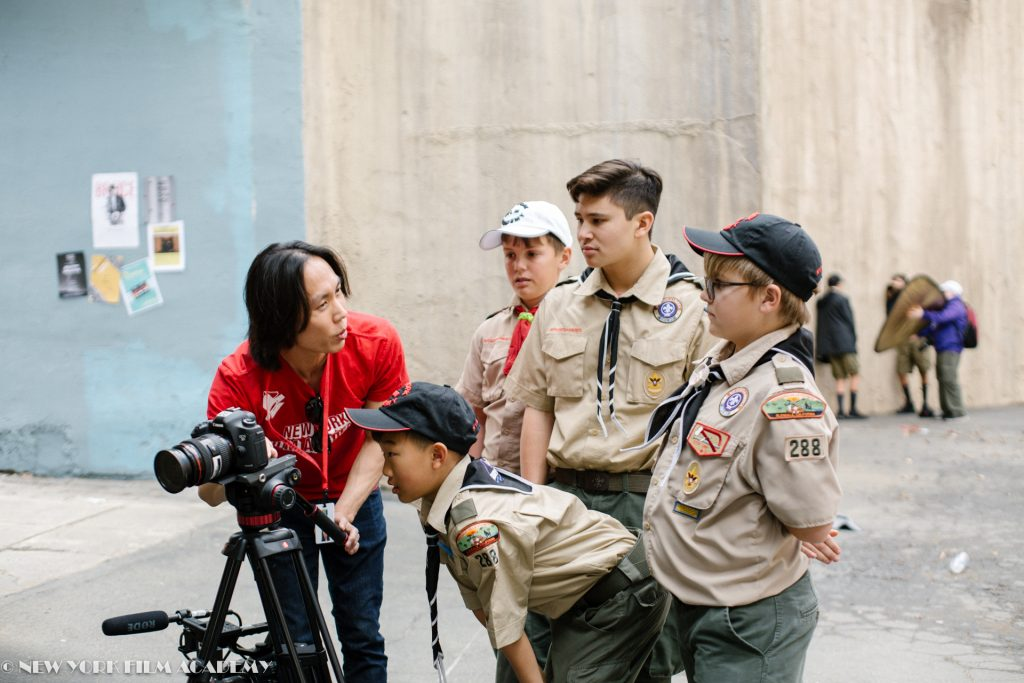 Boy Scouts Of America Earn Special Merit Badges At New York