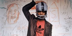 "Jean-Michel Basquiat from ""Boom For Real"""