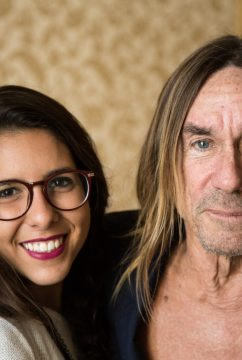 BTS – Iggy Pop in Cannes. Photo provided by Mariana Robles Thome.