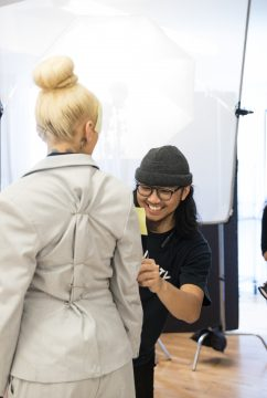 Behind the scenes photos with Stephany Viera Fernandez and Neil Camposuelo4