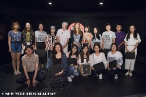 Beijing Normal University Students Study at NYFA
