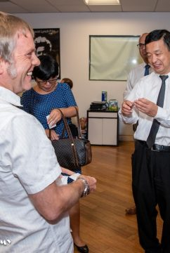 China Consulate in LA Visits NYFA
