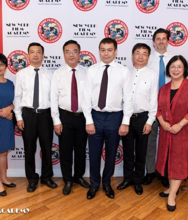 Consulate General of the People's Republic of China in Los Angeles Visits New York Film Academy