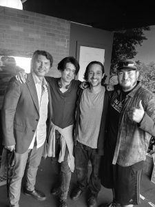 Lou Diamond Phillips, Brian A. Metcalf, Thomas Ian Nicholas, Pablo C. Vergara