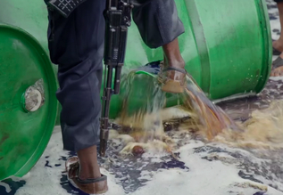 "A screenshot from ""Dirty Oil in Nigeria"""