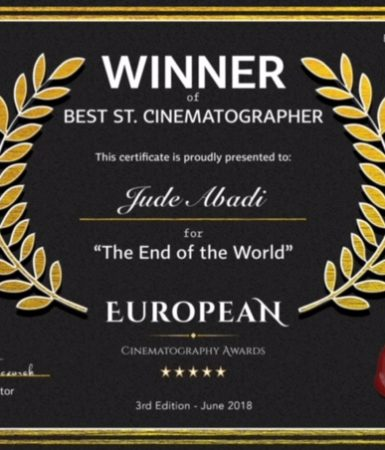Best Student Cinematography Award