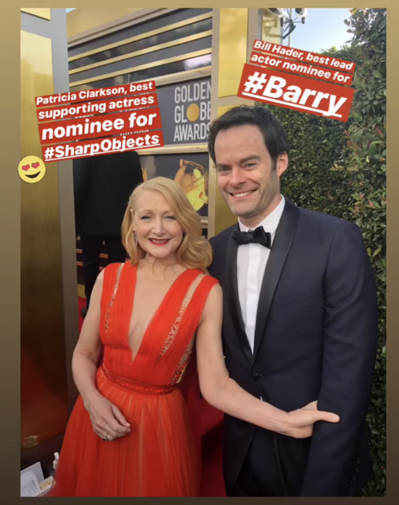 Bill Hader Golden Globes