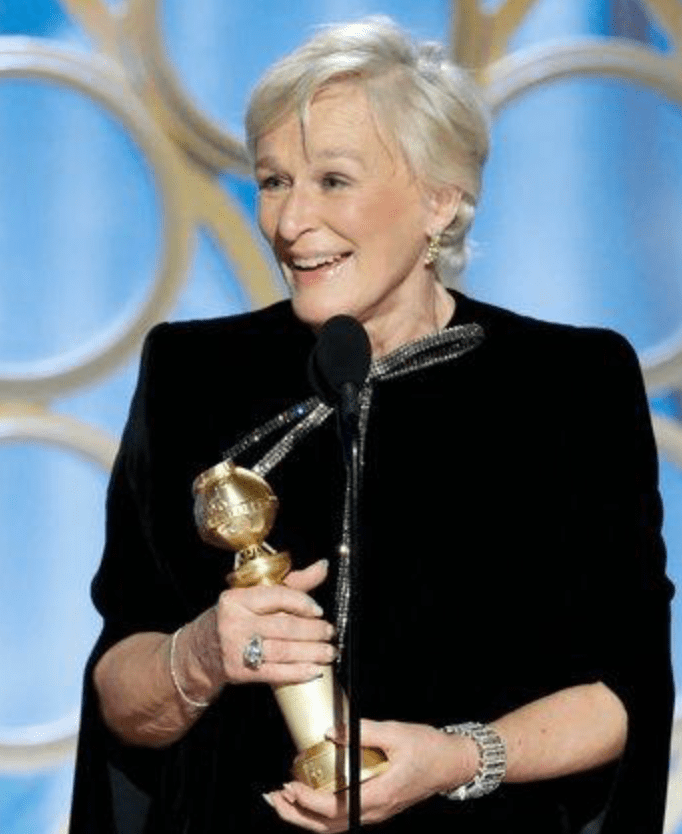 Glenn Close - Golden Globes