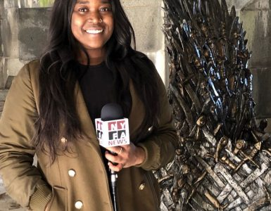 Game of Thrones Broadcast Journaliism