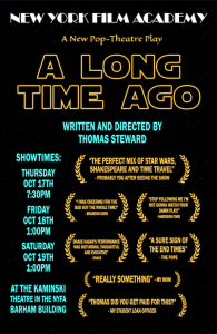 Student Directed Plays Fall 2019 Long Time Ago