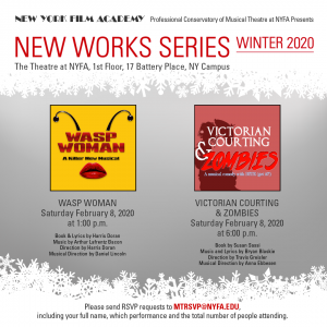 New Works Series Winter 2020