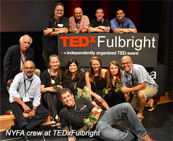NYFA crew at TEDxFulbright