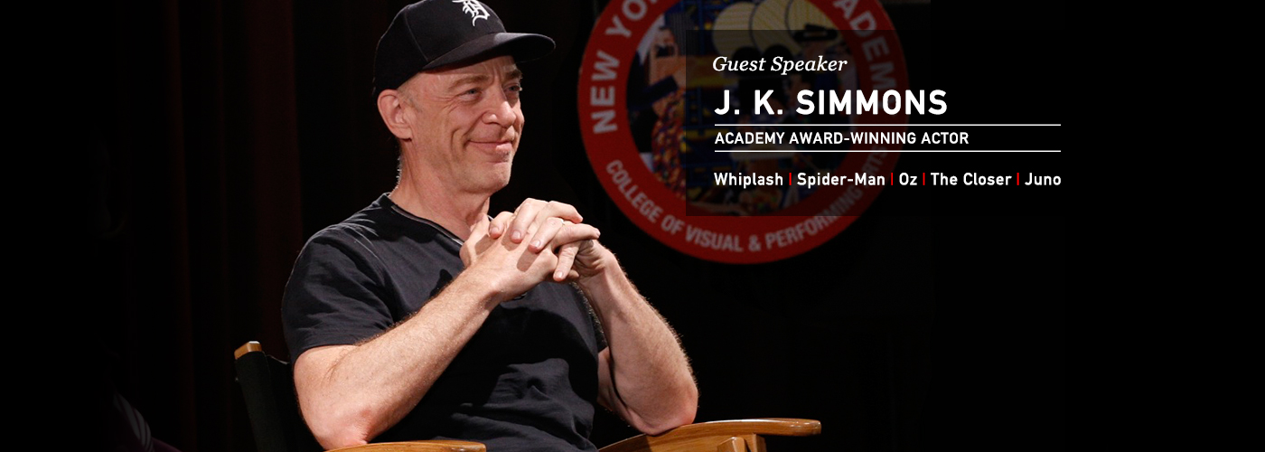 NYFA guest speaker actor J.K. Simmons