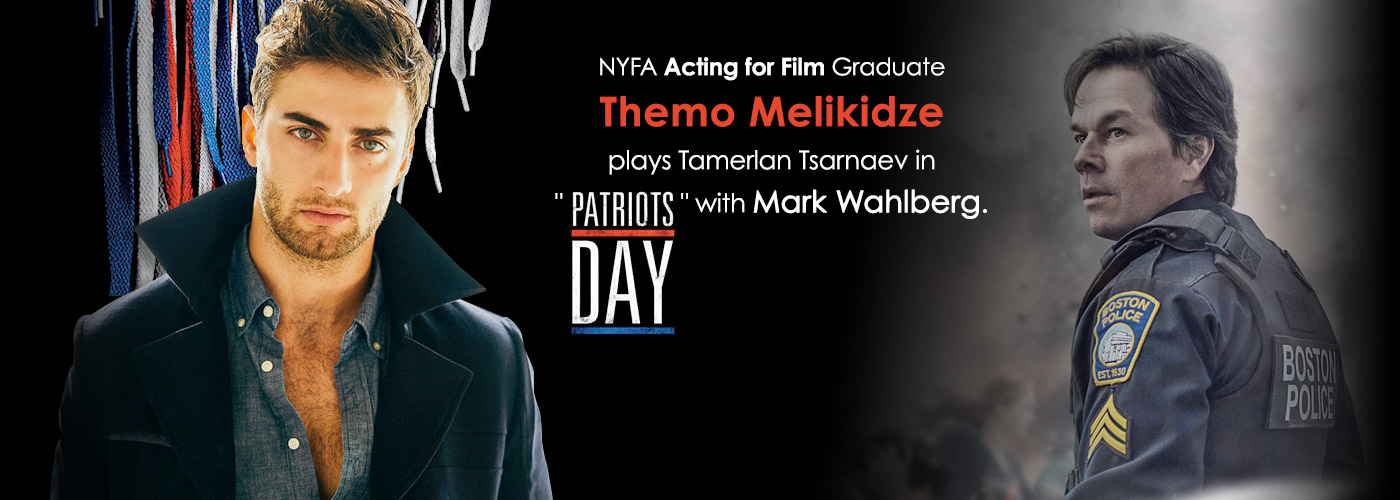 NYFA Acting for Film Graduate Themo Melikidze