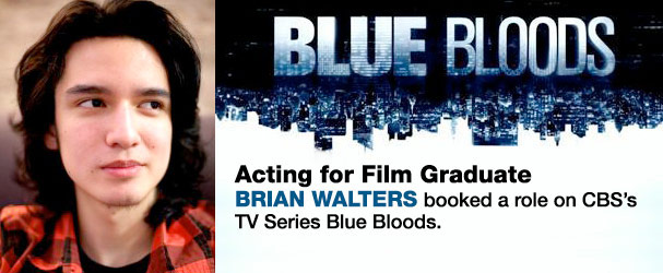 NYFA acting for film graduate Brian Walters on Blue Bloods