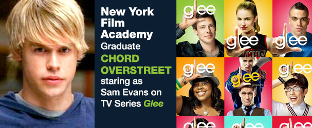 NYFA acting school graduate Chord Overstreet stars on Glee