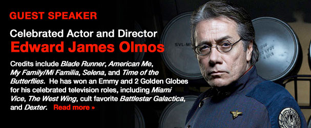 NYFA Guest Speaker Celebrated Actor and Director Edward James Olmos
