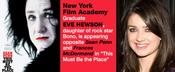 NYFA Graduate Eve Hewson in This Must Be The Place