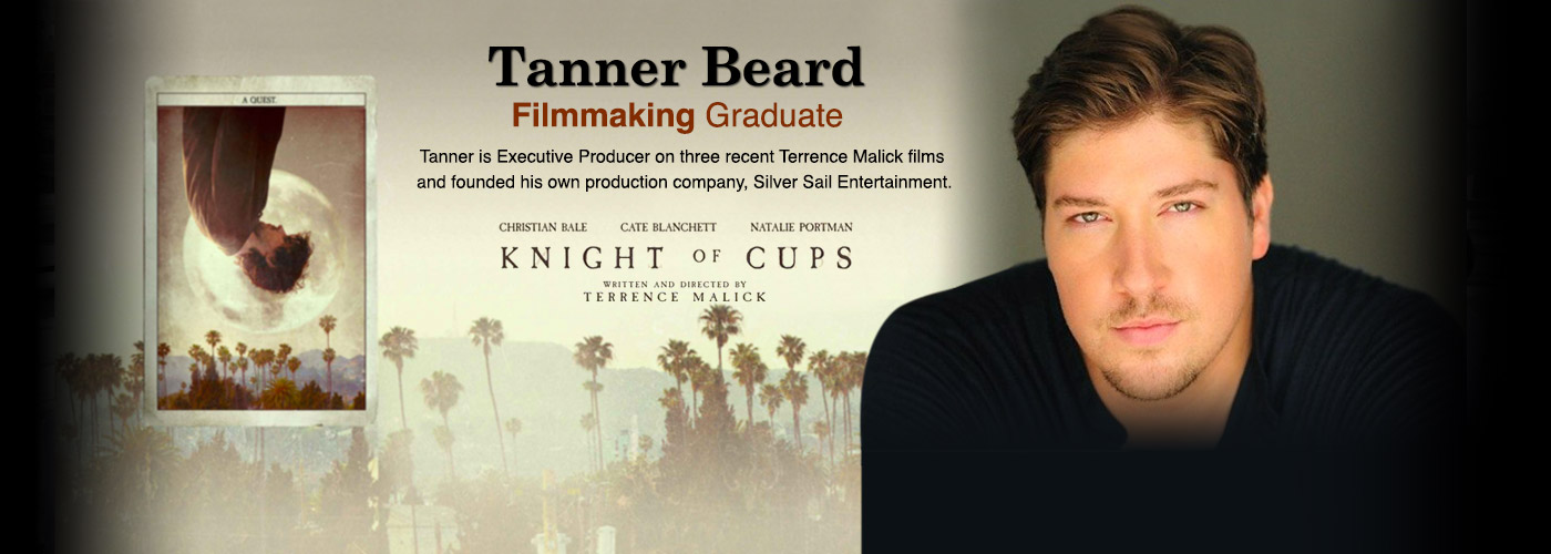 Filmmaking Grad Tanner Beard