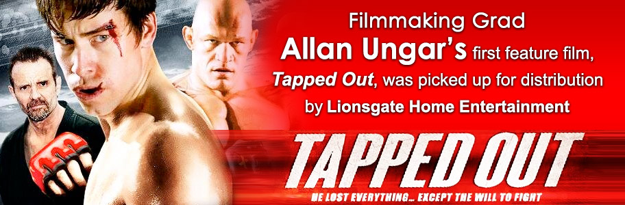 NYFA filmmaking grad Allan Ungar's Tapped Out distributed by Lionsgate