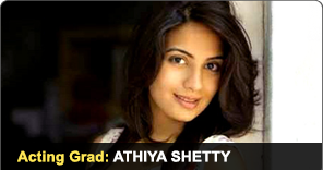 Acting Graduate Athiya Shetty
