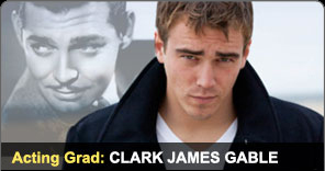 Acting Graduate Clark James Gable