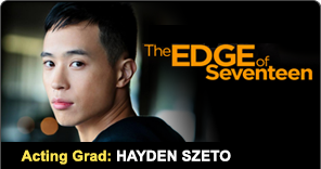 New York Film Academy Acting Graduate Hayden Szeto